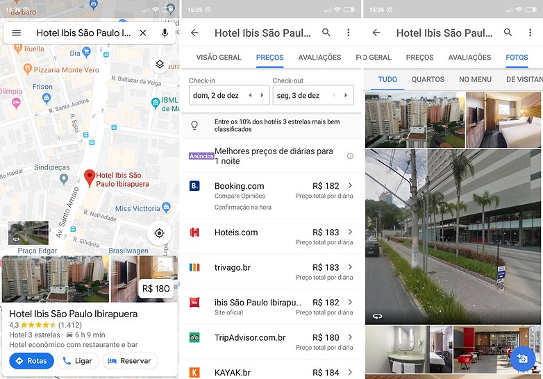 reserva de hoteis