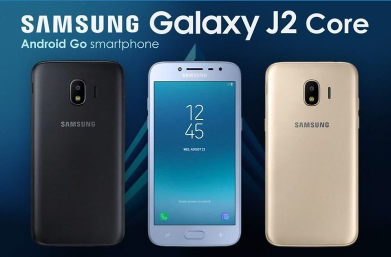 samsung galaxy j2 core android go2