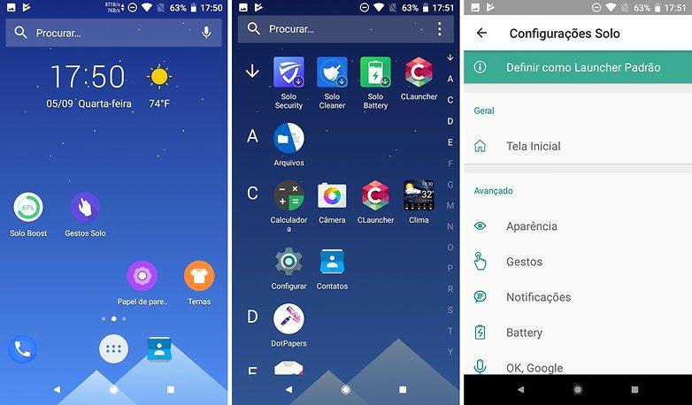 Melhores launcher para Android: 25 opções para você