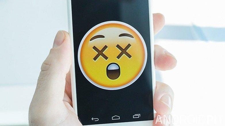 AndroidPIT Moto X broken