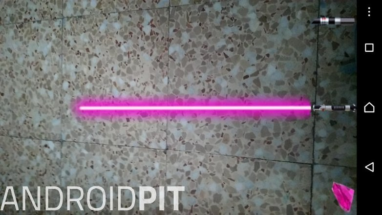 Augmented light sabre