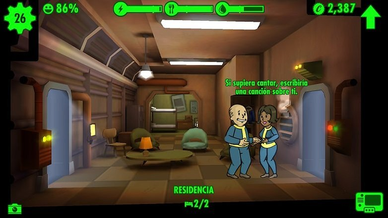 Fallout Shelter love