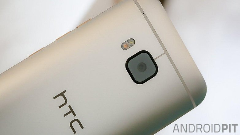 Htc One M9 rear