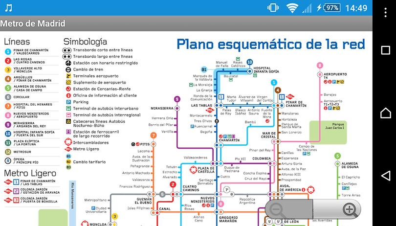 Las mejores aplicaciones para el Metro de Madrid