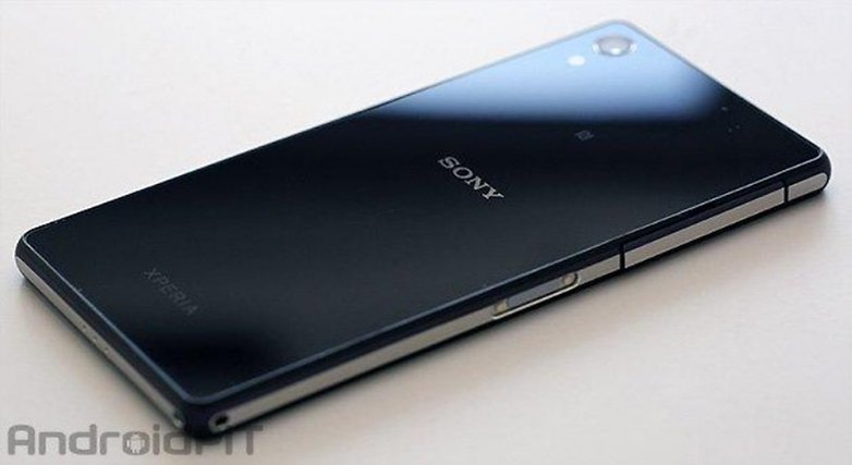 Sony xperia Z2 back
