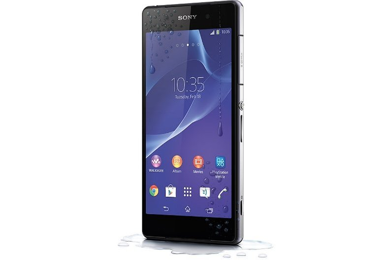 Xperia Z2 water resistance