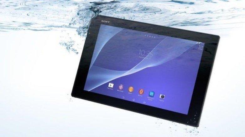 Xperia tablet z2 underwater