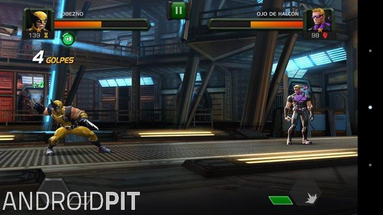 marvel batalla superheroes