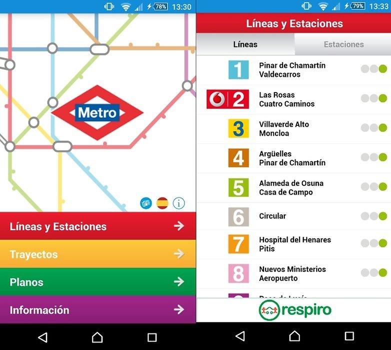 metro madrid oficial