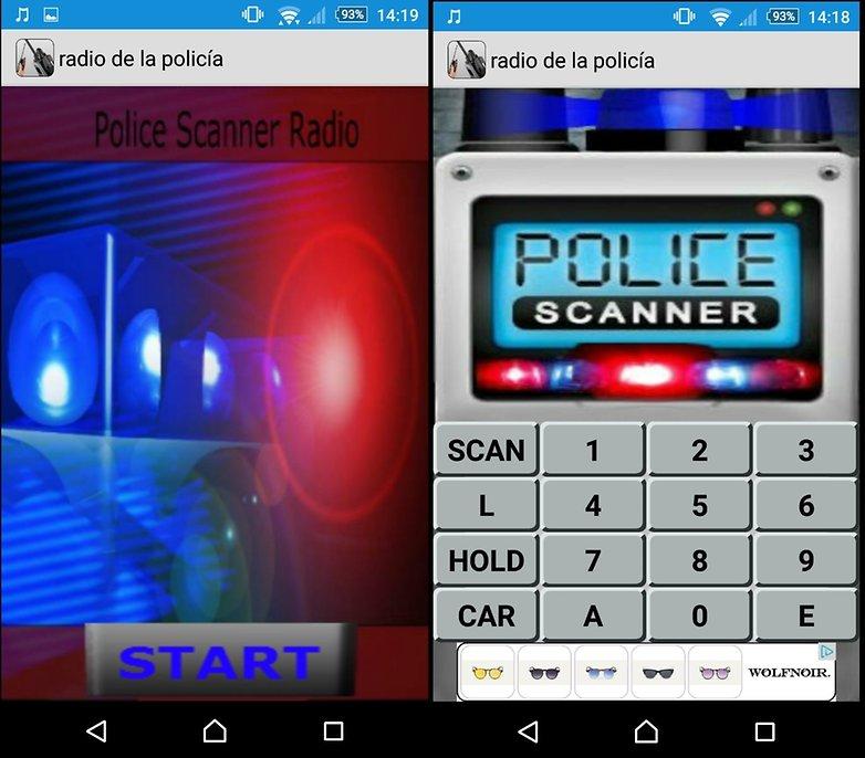 policia sonido
