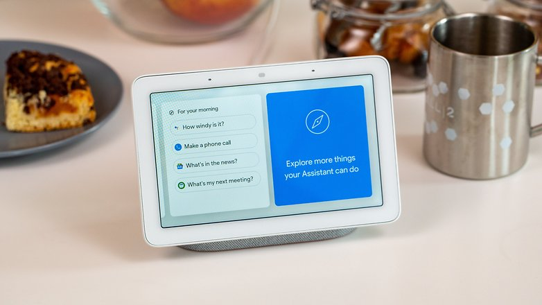 androidpit google nest hub cards