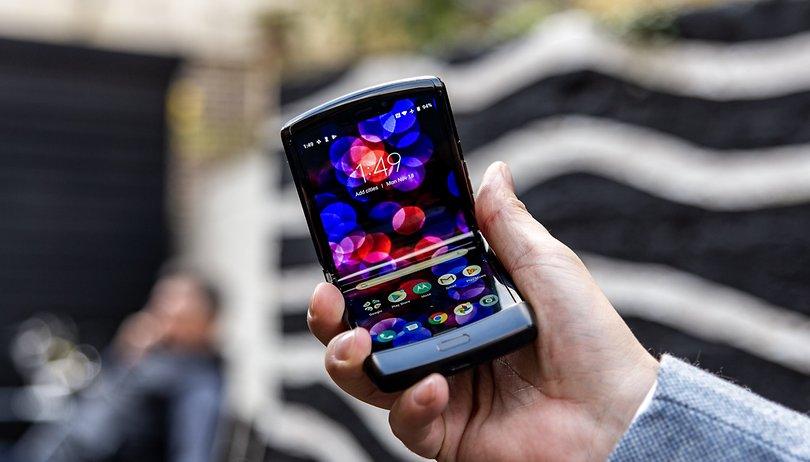 Motorola Razr 2019 : Mise en garde du fabricant concernant l'écran