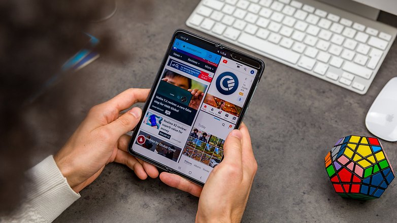 AndroidPIT samsung galaxy fold test foto 36