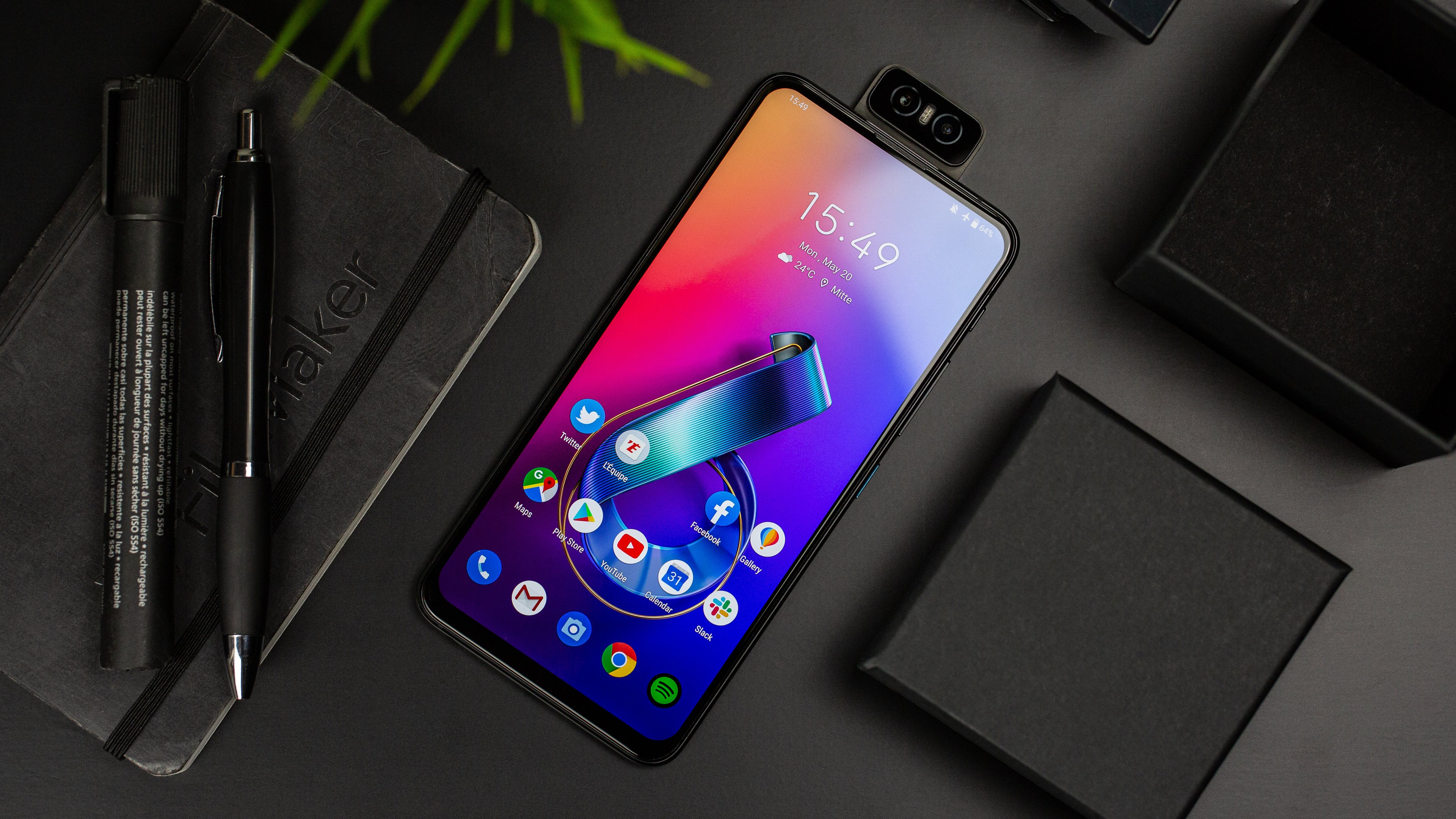 androidpit asus zenfone 6 hero - Android Terbaru yang Paling Ditunggu di Kuartal Tiga dan Empat 2020
