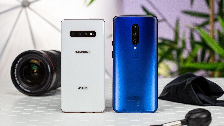OnePlus 7 Pro vs Samsung Galaxy S10+: Fast ein Duell auf Augenhöhe