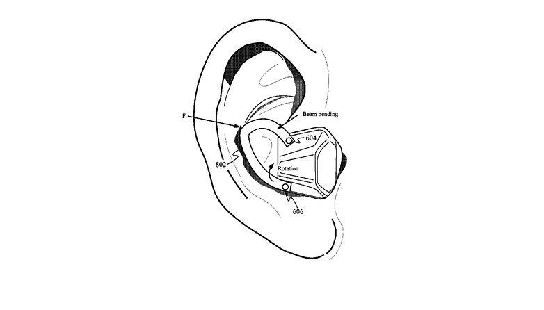 Brevet AirPods Interchangeables Capteurs Biometriques