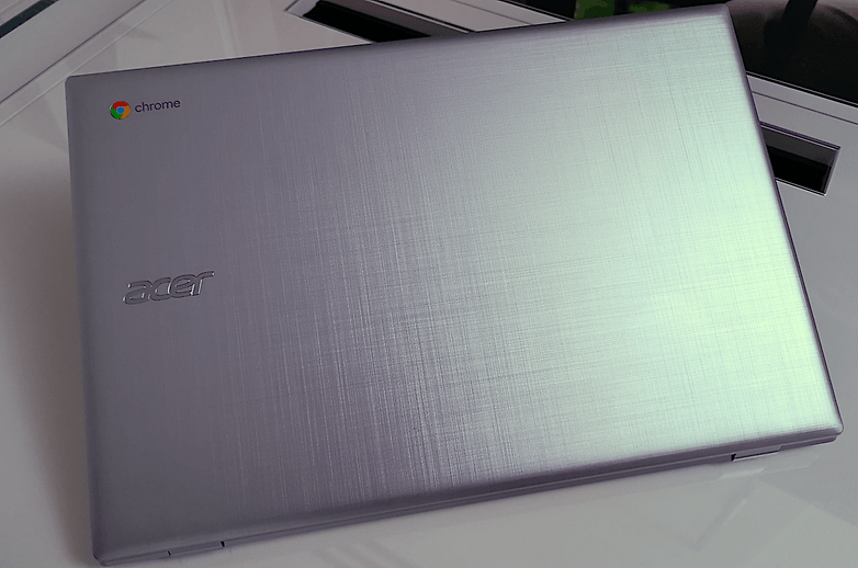acer chromebook 315 front
