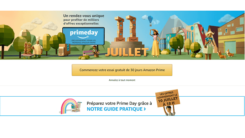 androidpit FR amazon prime day