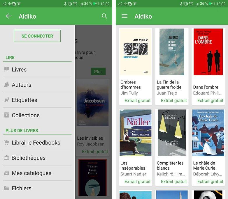 androidpit FR aldiko reader