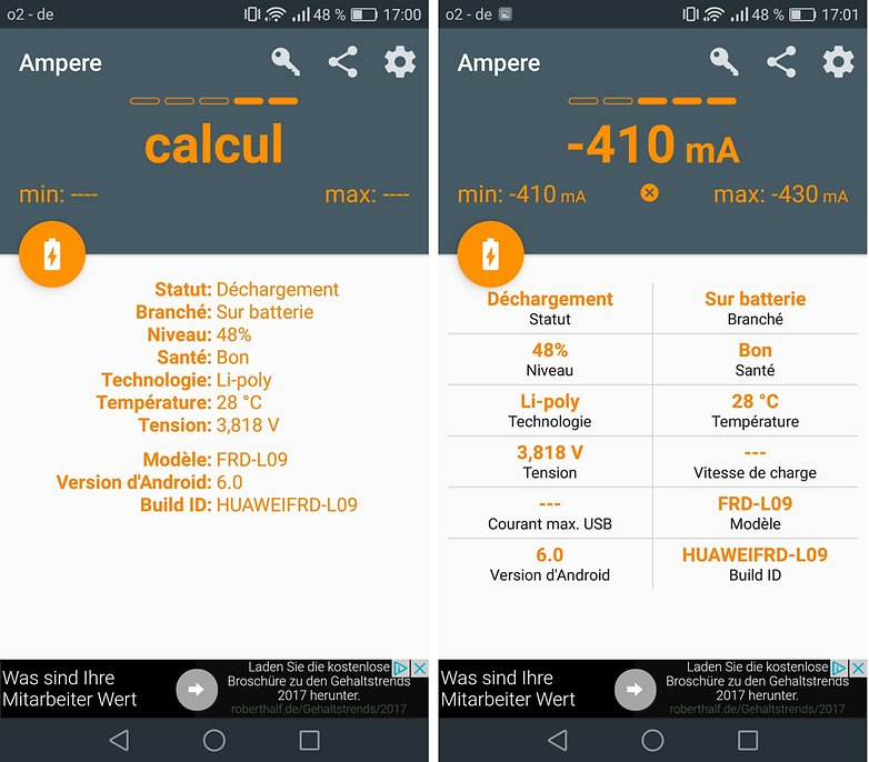 androidpit FR ampere android