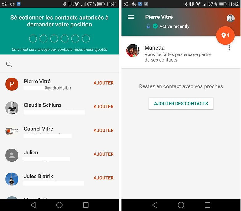 androidpit FR contacts confiance