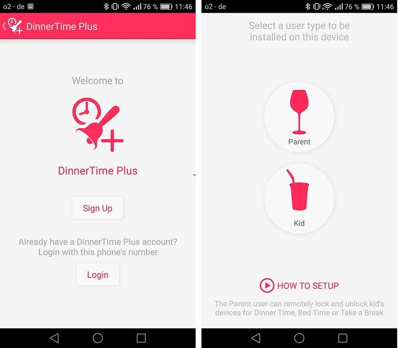 androidpit FR dinnertime