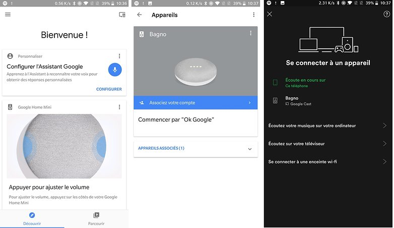 androidpit FR google home mini