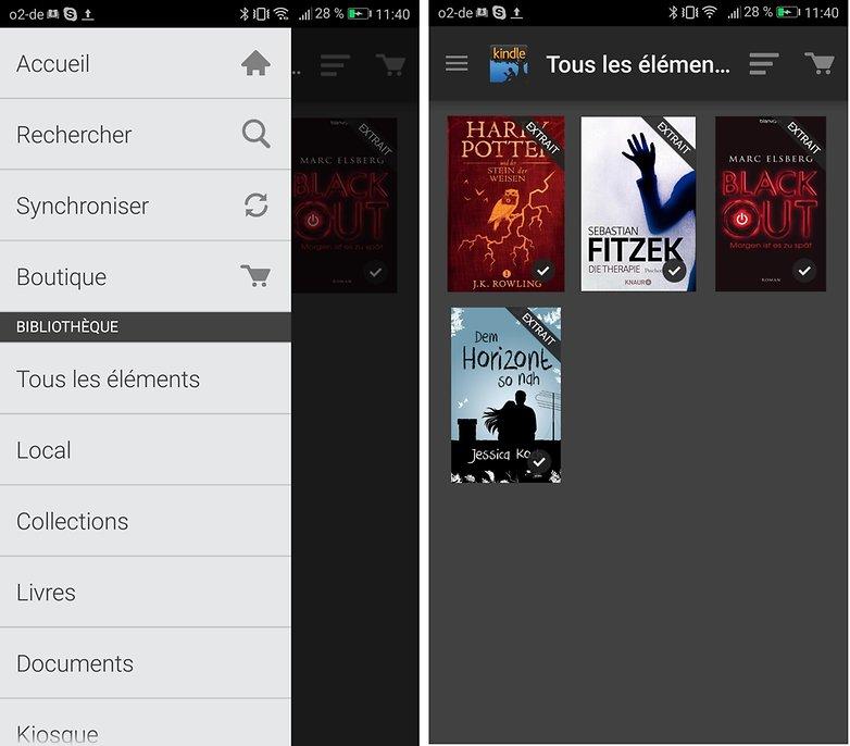androidpit FR kindle app