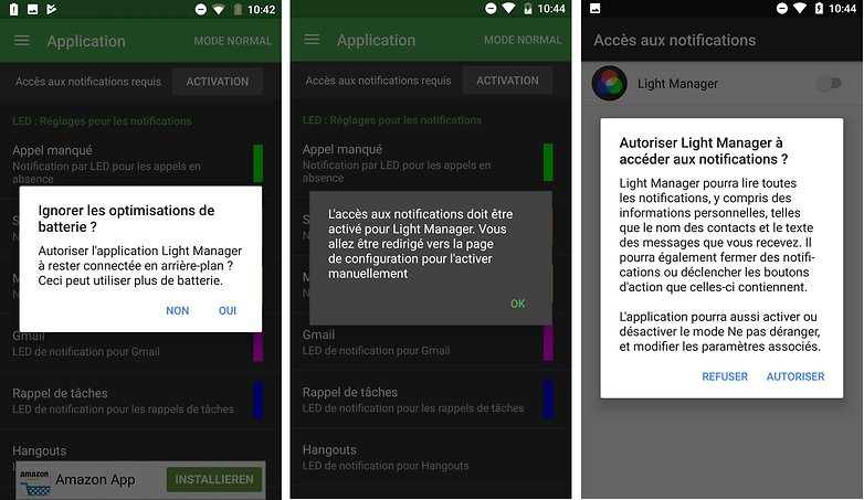 androidpit FR light manager notifications