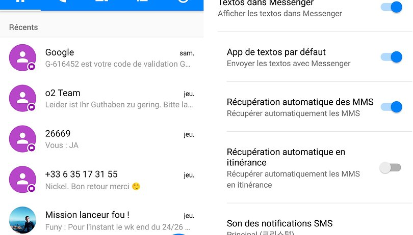 Les meilleures applications SMS sur Android | AndroidPIT