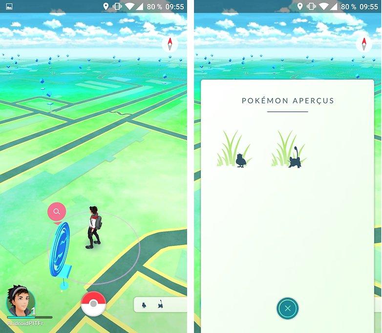 androidpit FR pokemon go apercus