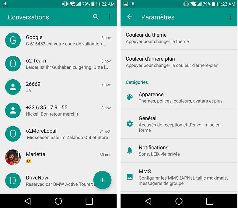 androidpit FR qksms