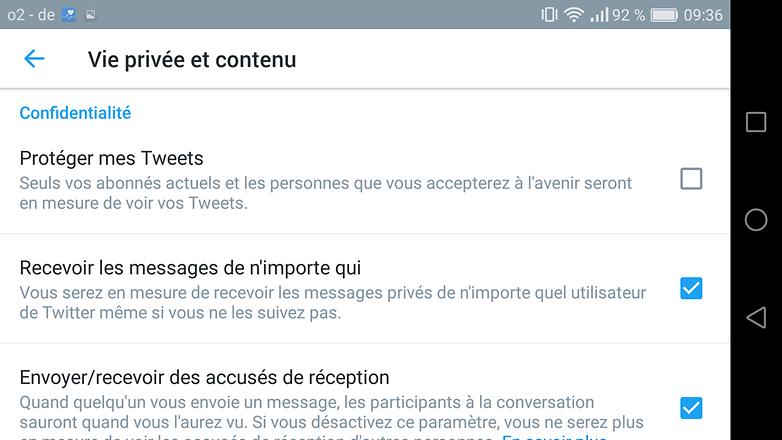 androidpit FR twitter vieprivee
