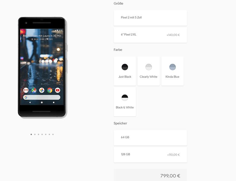 androidpit acheter google pixel 2