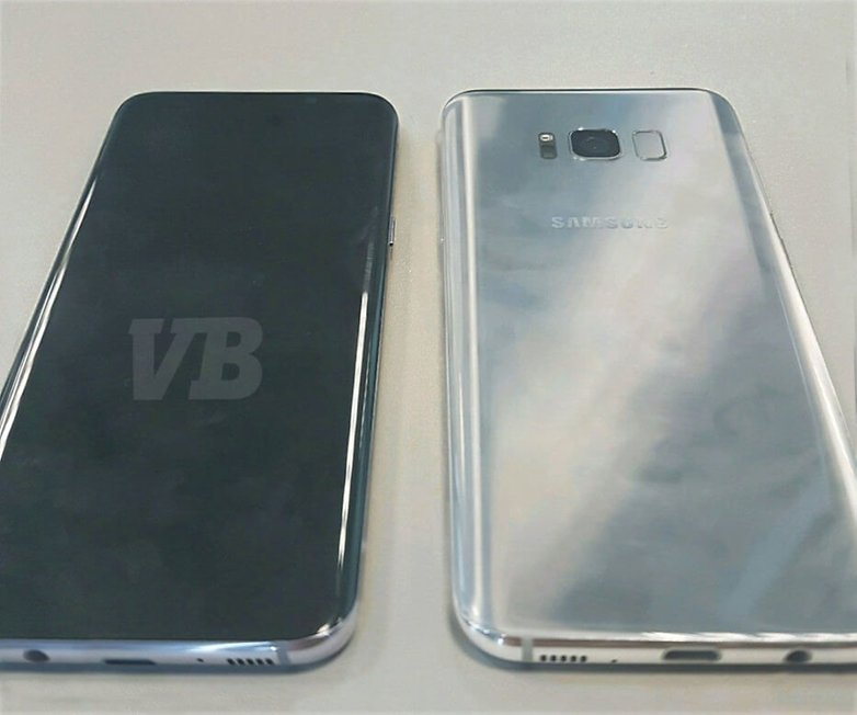 androidpit amsung Galaxy S8 Evleaks