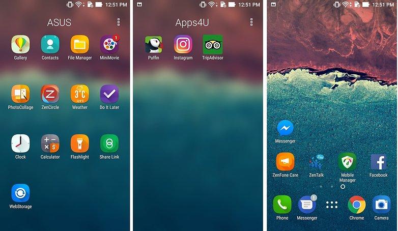 androidpit asus zenfone 3 bloatware