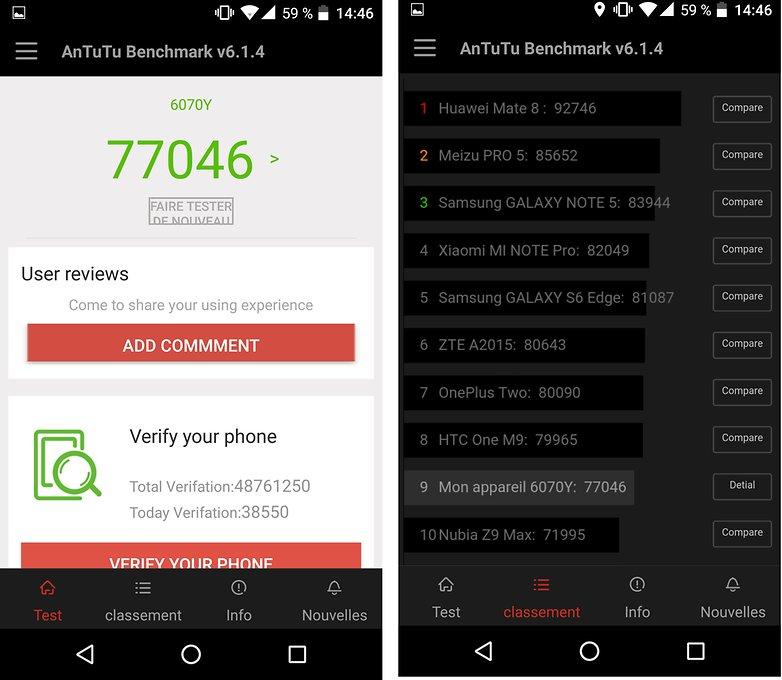androidpit benchmark antutu idol 4s