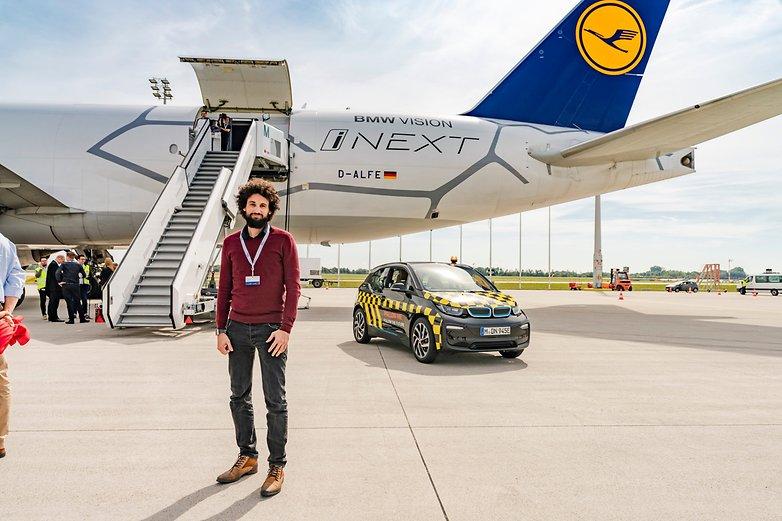androidpit bmw Lufthansa