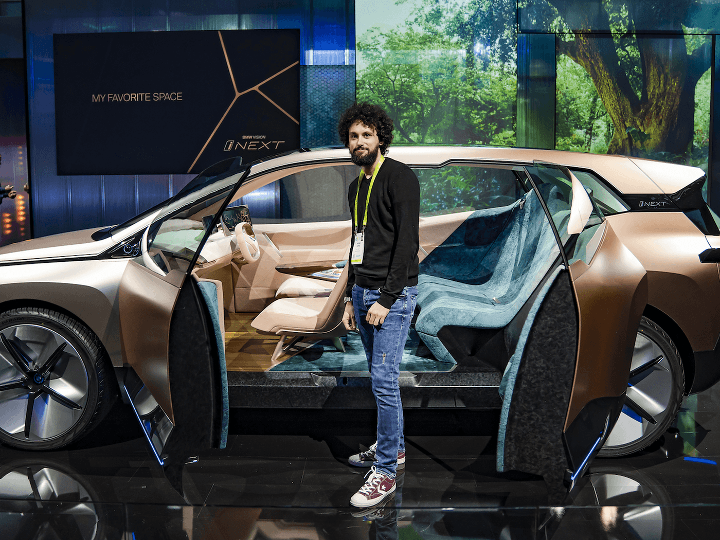 On Board The Car Of The Future Bmw Inext Vision Androidpit