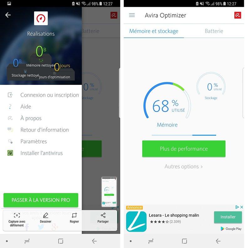 androidpit fr avira optimizer