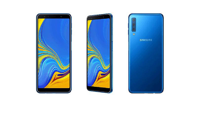 Galaxy A7 (2018) : le premier Samsung avec triple capteur photo !