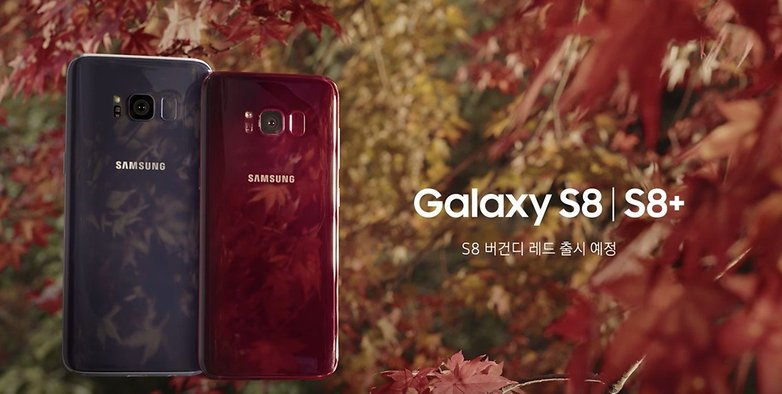 androidpit galaxy s8 red