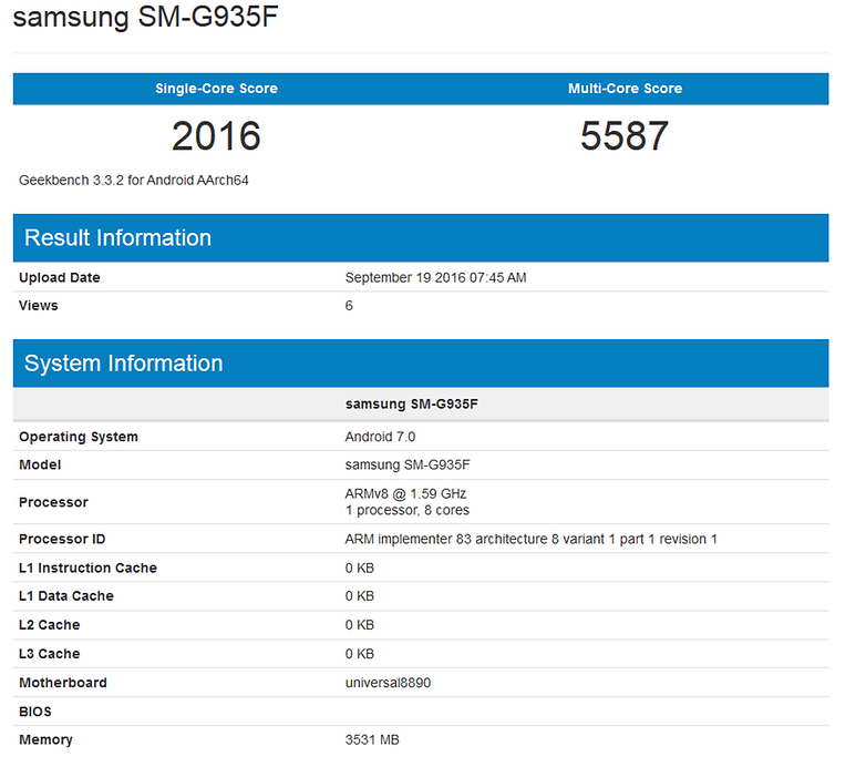 androidpit geekbench nougat s7 edge