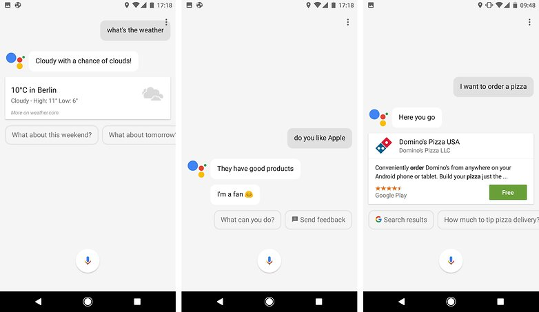 androidpit google assistant english