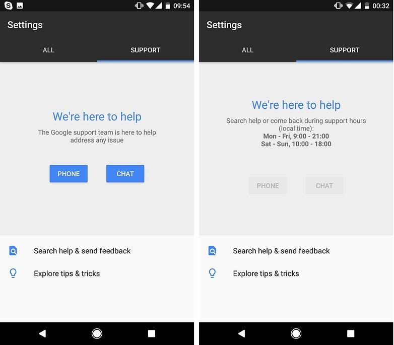 Supporto AndroidPIT google Cura