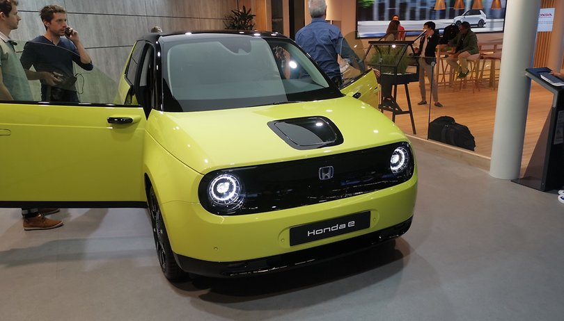 On board the Honda-e: the little electric city car that turns heads