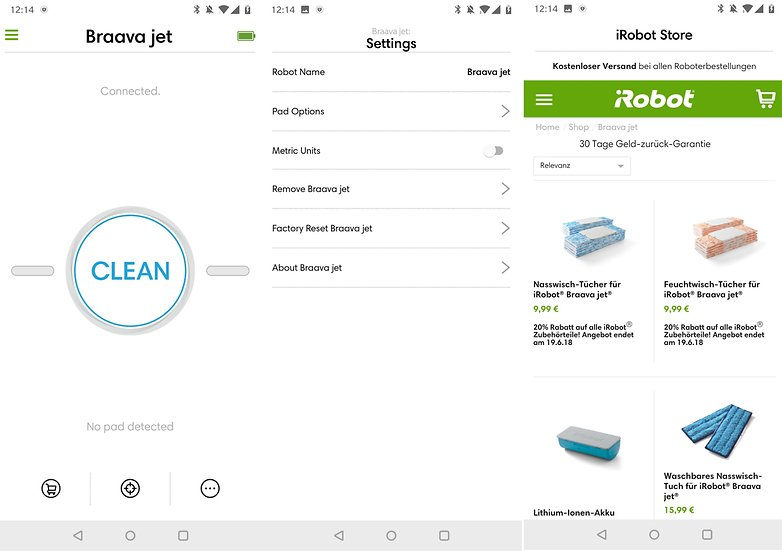 androidpit irobot home