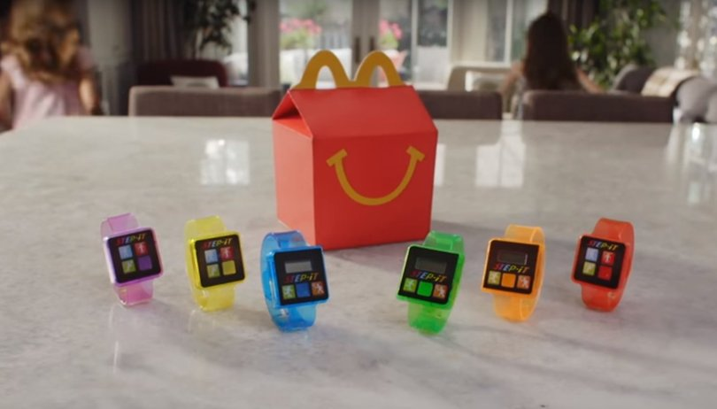 FitBit, Samsung Gear Fit2, Apple Watch et maintenant McDonald's !