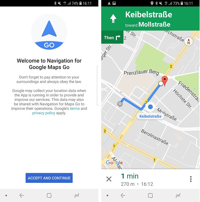 androidpit navigation maps go