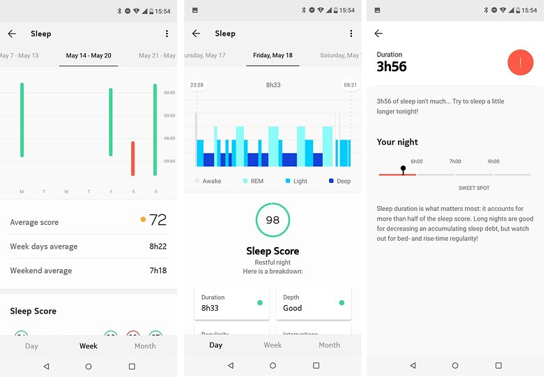 androidpit nokia health sleep